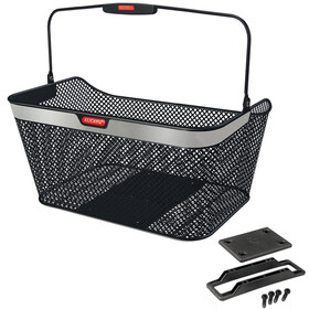 KlickFix City Bike Basket GTA, reflect